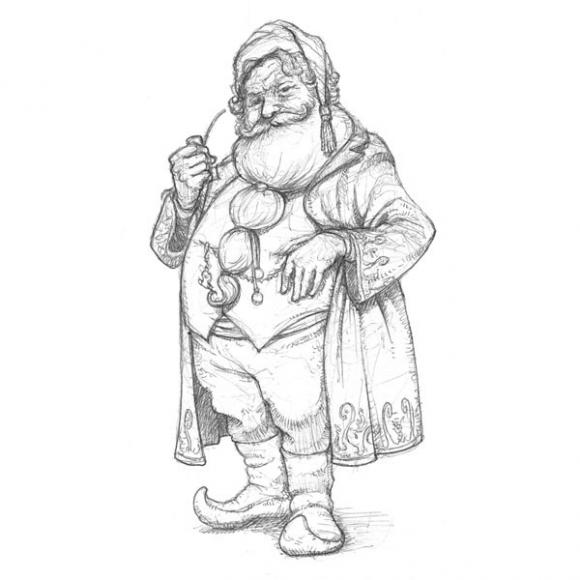 Картинки про дедушку из сказок по-русски моисей