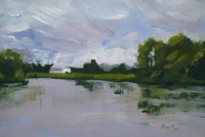 Skagit River Barn