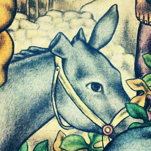 The mop donkey