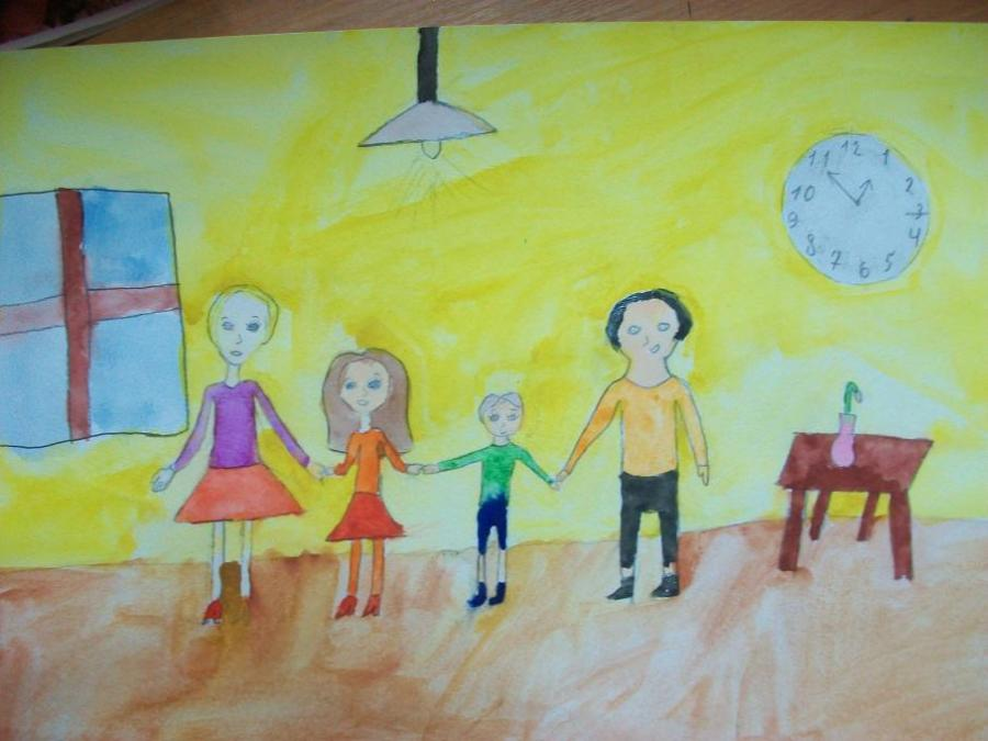 My happy family. My Family. Drawings. Pictures. Drawings ...