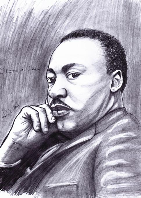 I Have A Dream Author Drawing