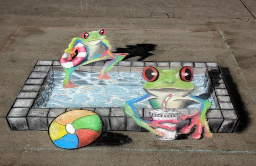 3d Frogs Nature Drawings Pictures Drawings Ideas For Kids Easy