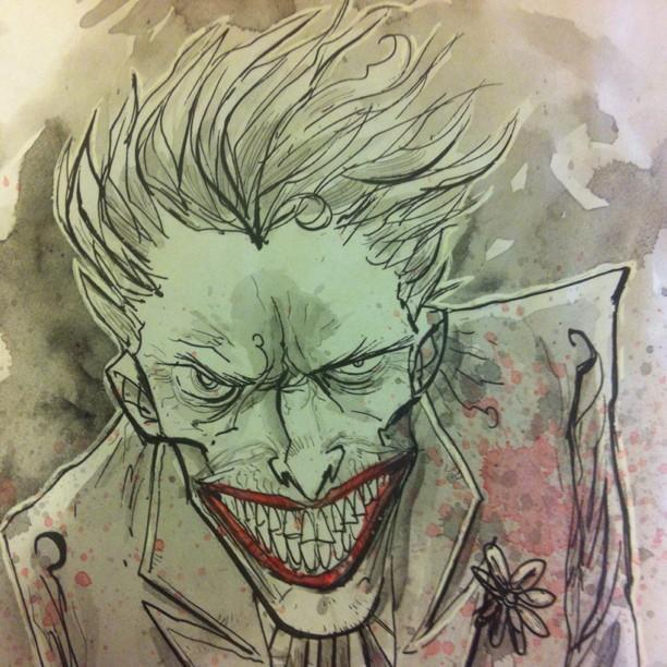 A Little Bit Of Joker Fairy Tale Characters Drawings Pictures