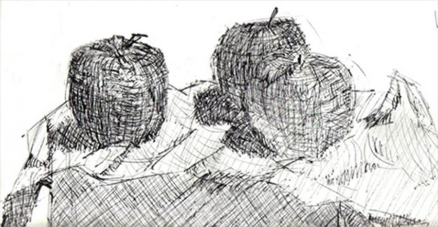 Apples Still Life  Nature  Drawings  Pictures  Drawings