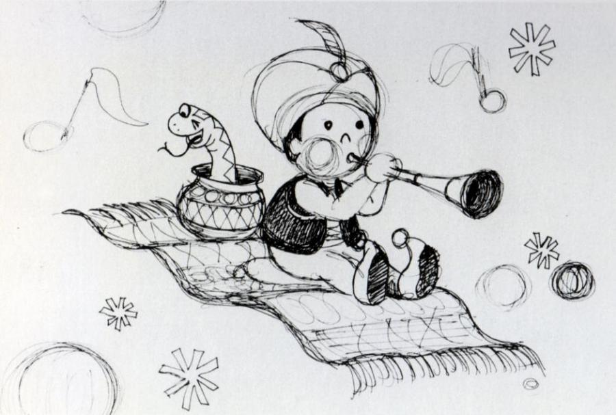 author drawing - Small Drawings For Kids