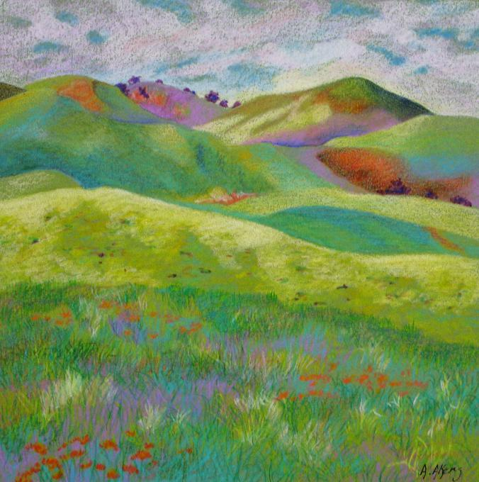 California Hills Nature Drawings Pictures Drawings Ideas For