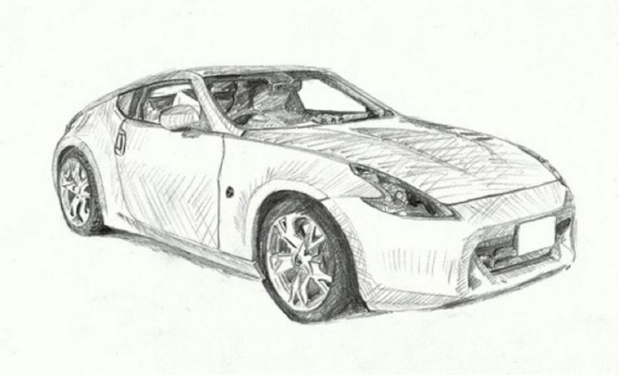 Nissan Fairlady Z (Z34) 2008. Types drawings. Drawings. Pictures ...