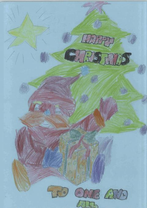 Christmas Card Holidays Drawings Pictures Drawings Ideas For Kids Easy And Simple