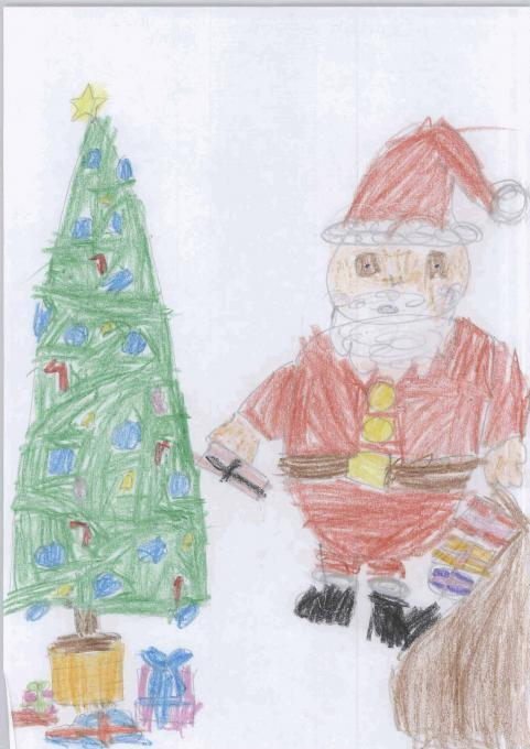 Christmas Card . Holidays. Drawings. Pictures. Drawings
