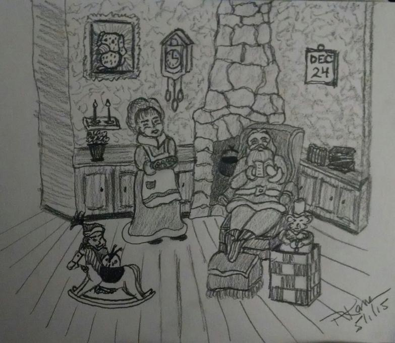 christmas eve holidays drawings pictures drawings ideas for kids easy and simple christmas eve holidays drawings