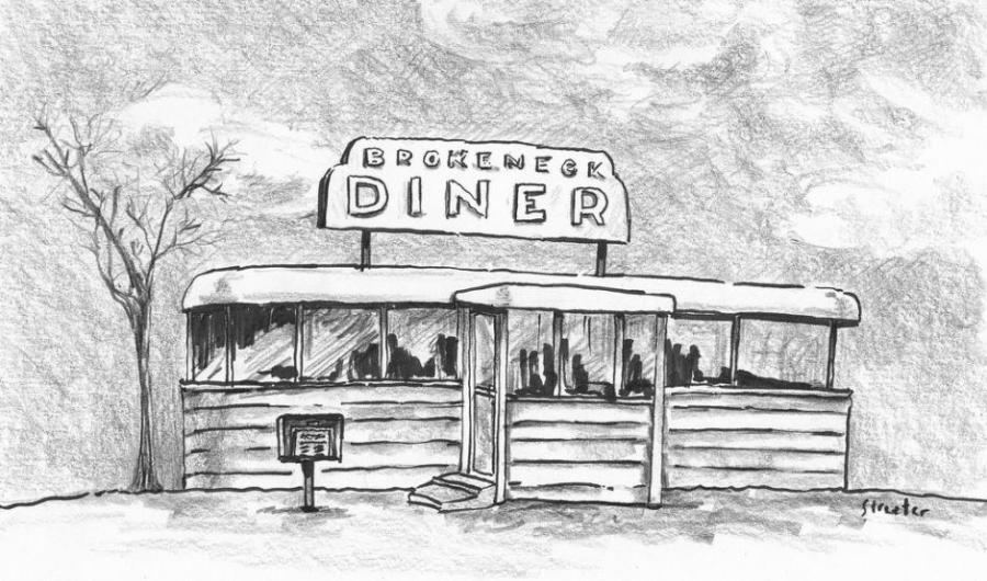 Diner Life People Drawings Pictures Drawings Ideas For Kids