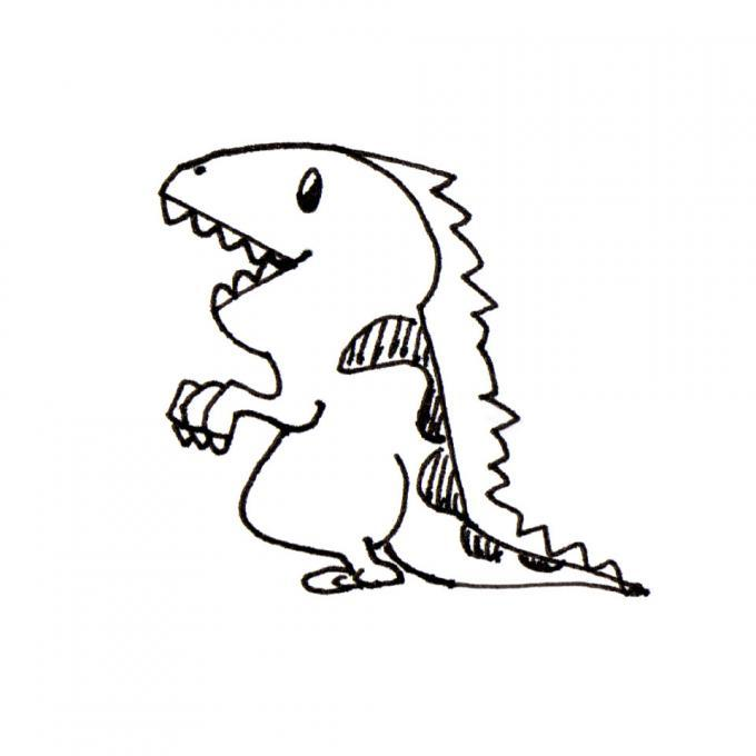 Dinosaur nature drawings pictures drawings ideas for for Cool drawing sites