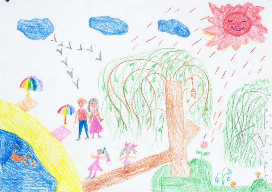 Family holidays. My Family. Drawings. Pictures. Drawings ...