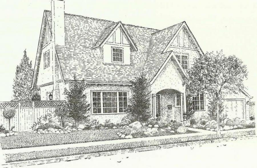 Attrayant Drawing Of A House
