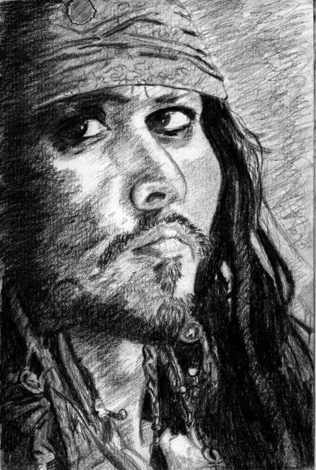 Jack Sparrow People Drawings Pictures Drawings Ideas