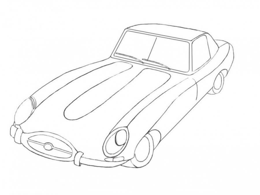 jaguar author drawing