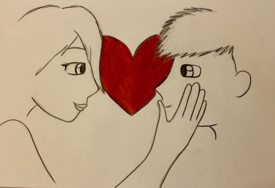 Love People Drawings Pictures Drawings Ideas For Kids Easy And