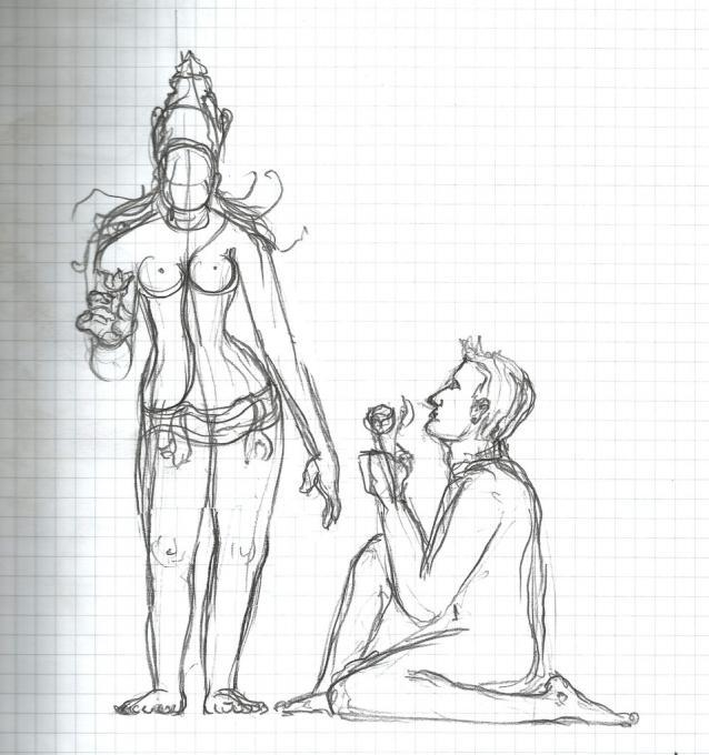 Love Your Goddess People Drawings Pictures Drawings Ideas For