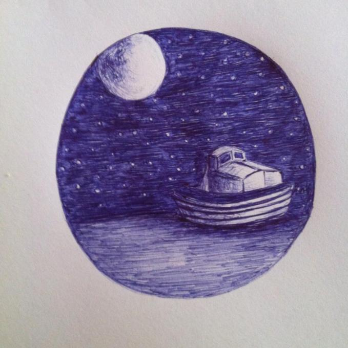 Moon Nature Drawings Pictures Drawings Ideas For Kids Easy And
