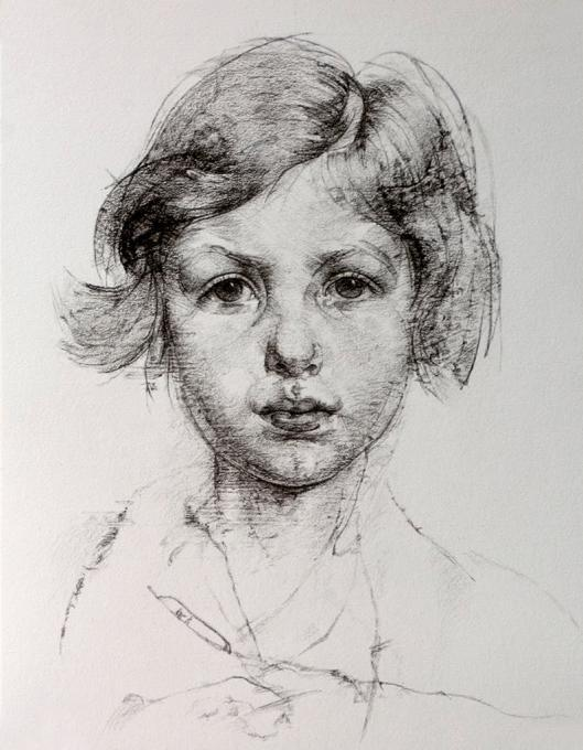 Nicolai Fechin My Family Drawings Pictures Ideas For Kids Easy And Simple