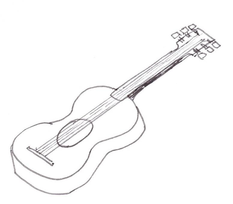 Guitar Life People Drawings Pictures Drawings Ideas For Kids Easy And Simple