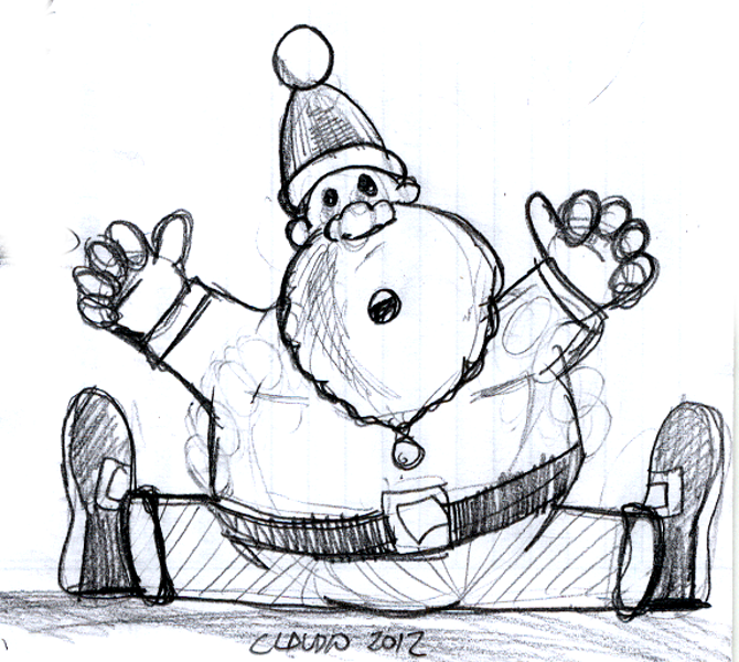 santa claus holidays drawings pictures drawings ideas for kids easy and simple santa claus holidays drawings