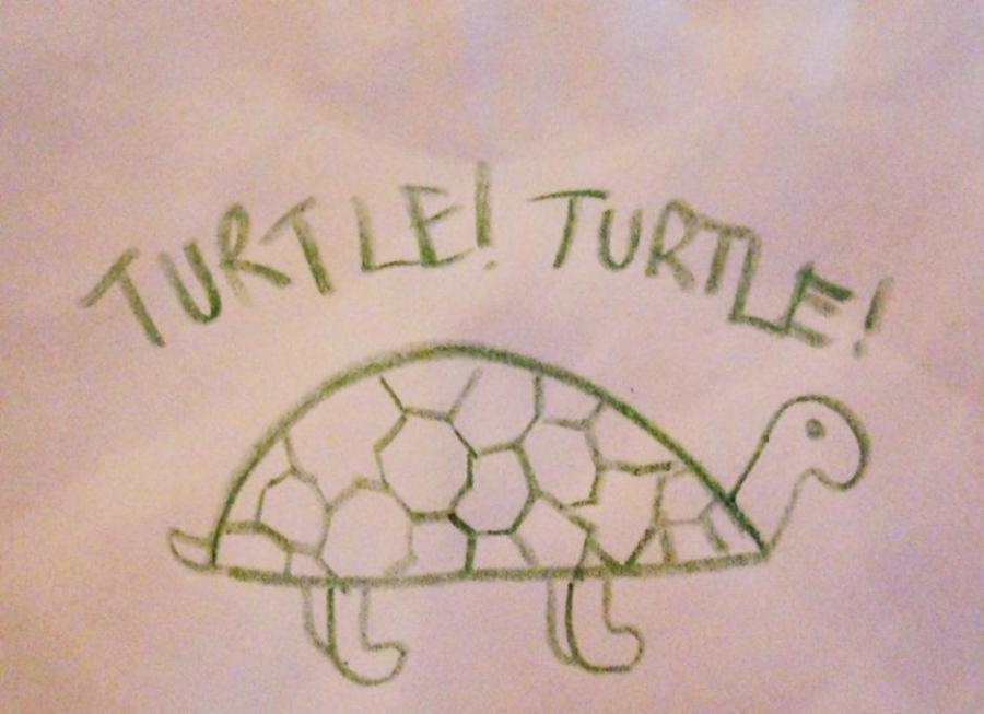 Turtle Nature Drawings Pictures Drawings Ideas For Kids Easy