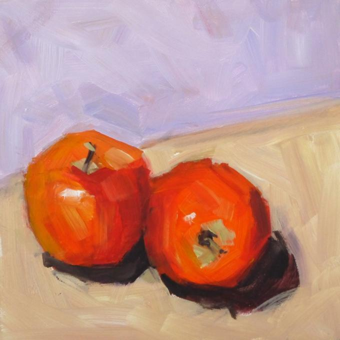 two apples  Still Life  Drawings  Pictures  Drawings ideas
