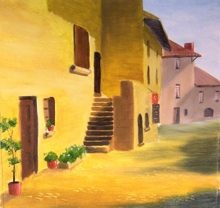 Village In The Sun My Country Drawings Pictures