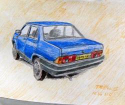 1985 Fiat Regata 75