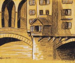 The gold of the bridge