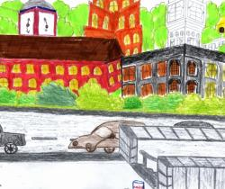 My city.Children's Drawings
