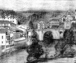 Amarante view of New Bridge