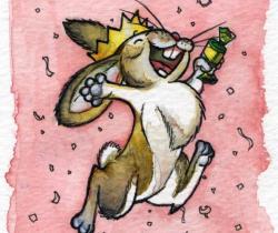 Celebratory Bunny