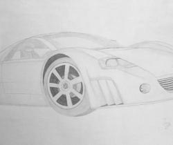 Volkswagen Concept Car Sketch