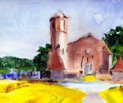 Parleboscq, the seven churches, Bouau