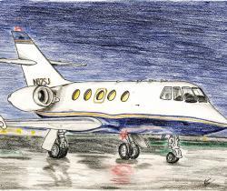 Dassault Falcon 20F
