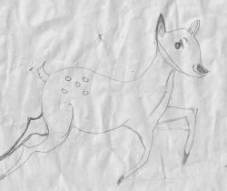 Deer by Malathi