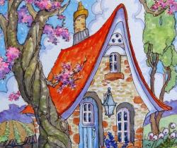 Divinely Downsized Storybook Cottage Series
