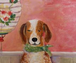 freckled dog