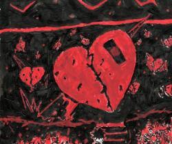 Theory of broken hearts