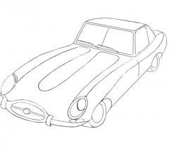 Nissan Fairlady Z (Z34) 2008. Types drawings. Drawings