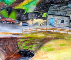 Sue Hodnett's Lead Mining Landscape