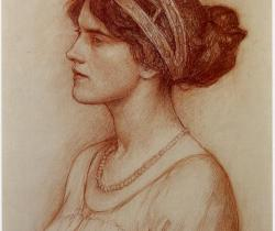 Study for portrait of the Marchioness