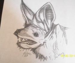 my bat drawing