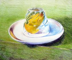 Pear In A Glass
