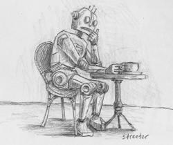 Robot has Coffee