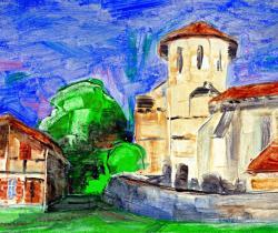 Parleboscq, the seven churches, Saint Cricq