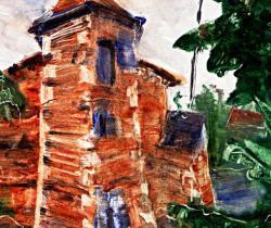 Parleboscq, the seven churches, Sarran