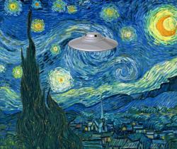 Strange Starry Night